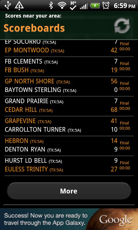 High School Scoreboard LITE - screenshot