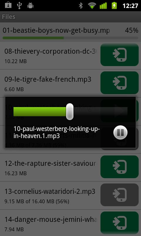µTorrent®  Remote - screenshot