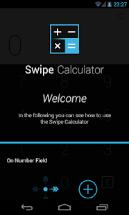 Swipe Calculator FREE- screenshot thumbnail