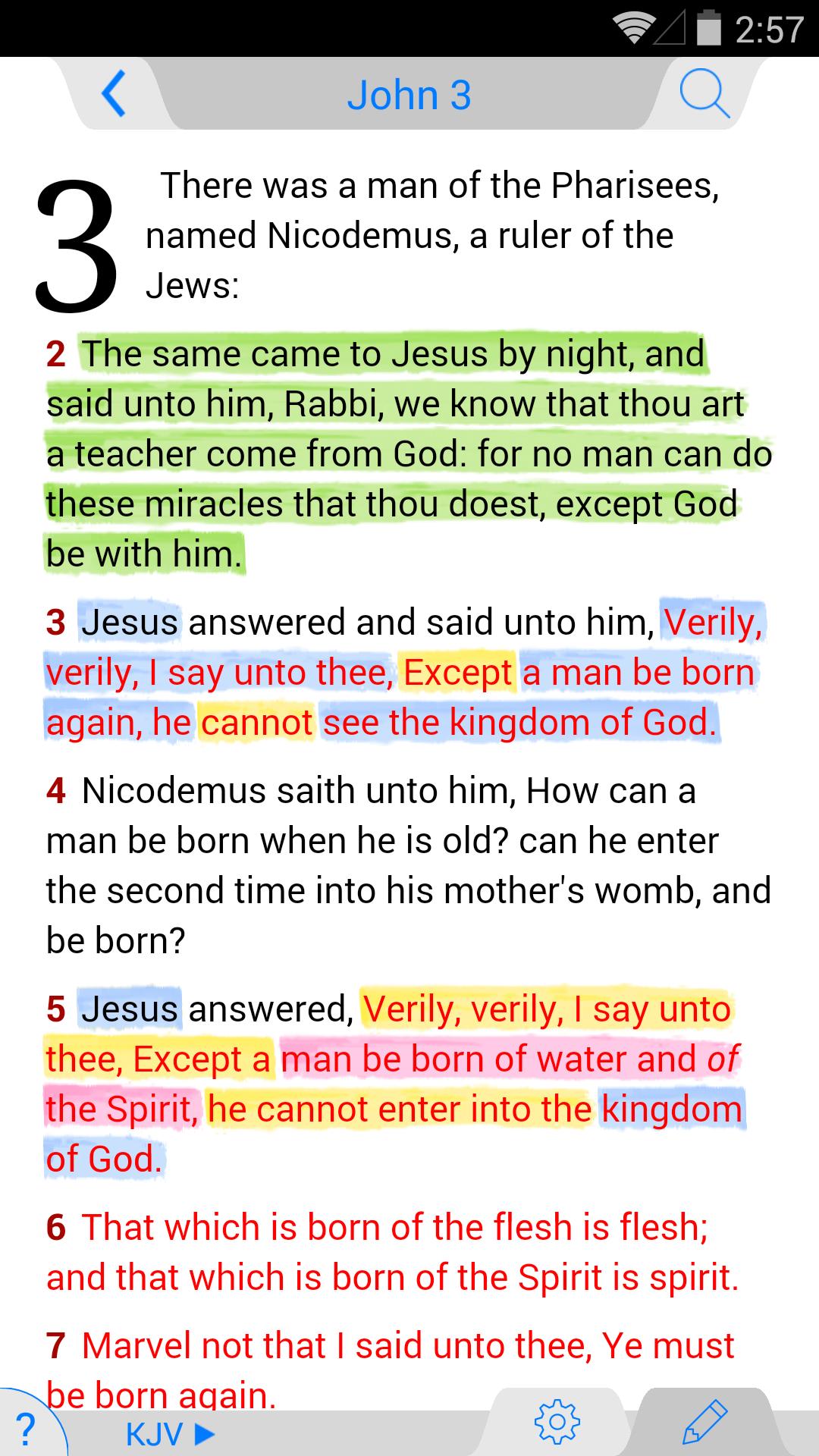 NLT Bible screenshot #1