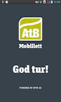 Screenshot of AtB Mobillett