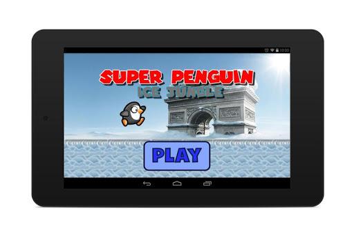 super penguins run ice age