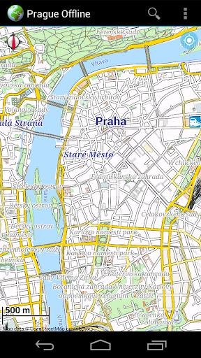 Offline Map Prague