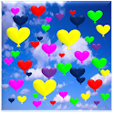 Heart Balloons WallPaper Pro icon