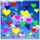 Heart Balloons WallPaper Pro