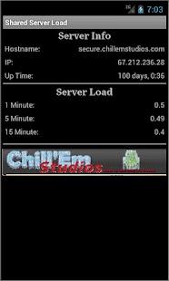 Shared Server Load- screenshot thumbnail