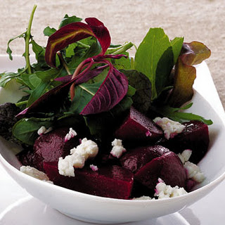 Beet and Feta Salad.