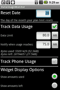 Phone Usage Gauge Widget - screenshot thumbnail