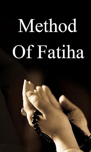 Method Of Fatiha
