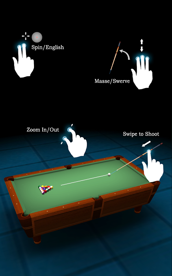Pool Break Lite - 3D Billiards - screenshot