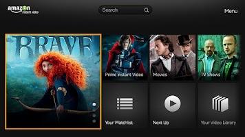 Screenshot of Amazon Instant Video-Google TV