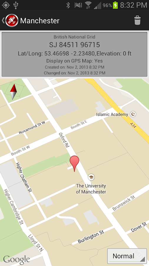 Basic GPS Android Apps On Google Play - Us national grid map google