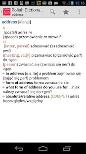 Collins Polish Dictionary - screenshot thumbnail