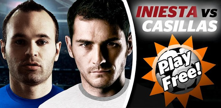 Iniesta VS. Casillas apk