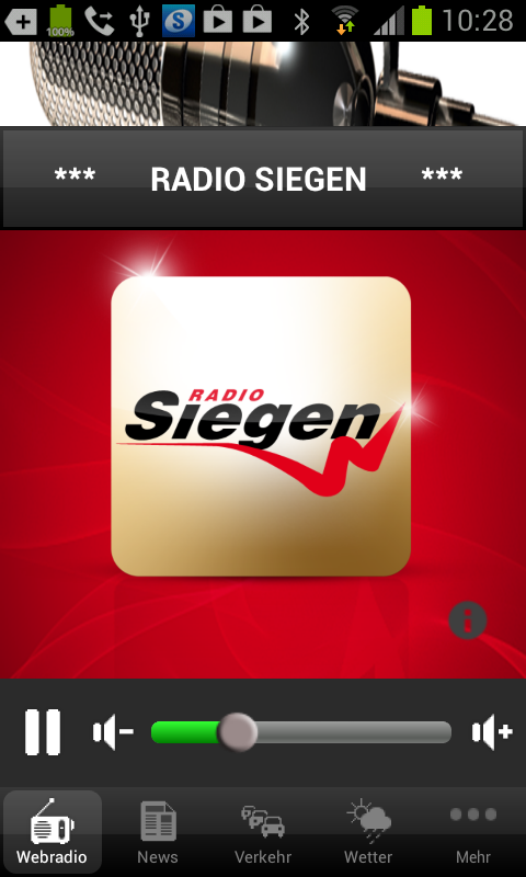 Radio Siegen- screenshot