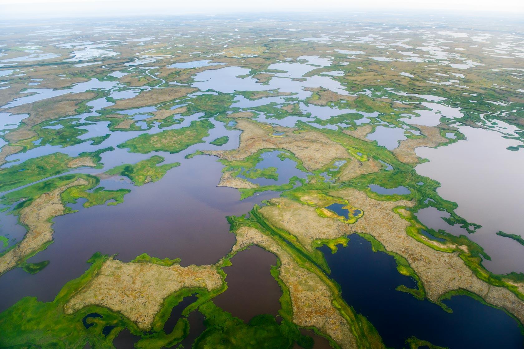 Aerial, Yukon-Kuskokwim Delta