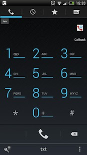 Mobile VoIP Dialer- screenshot thumbnail