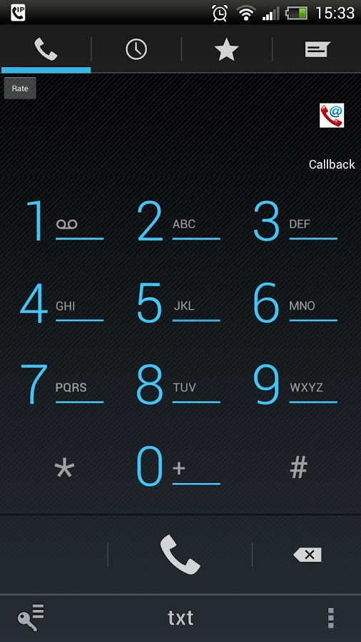 Mobile VoIP Dialer- screenshot