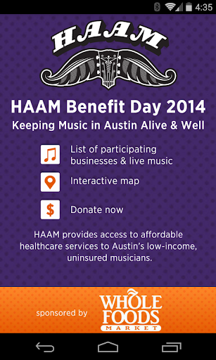 HAAM Benefit Day
