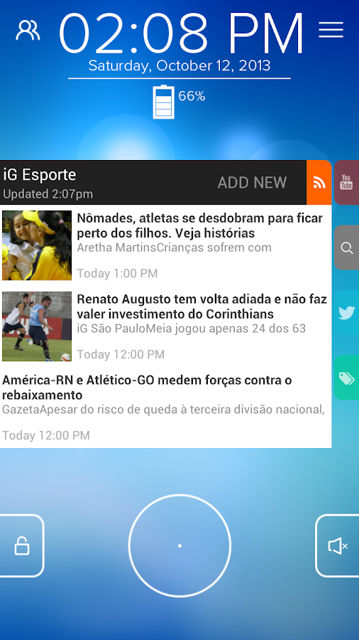 iG Esporte - Start RSS - screenshot