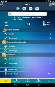New Delhi Airport + Radar DEL screenshot 9