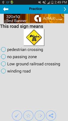 DMV Test New York - screenshot