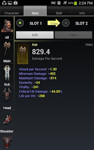 Diablo 3 Item Compare - screenshot thumbnail