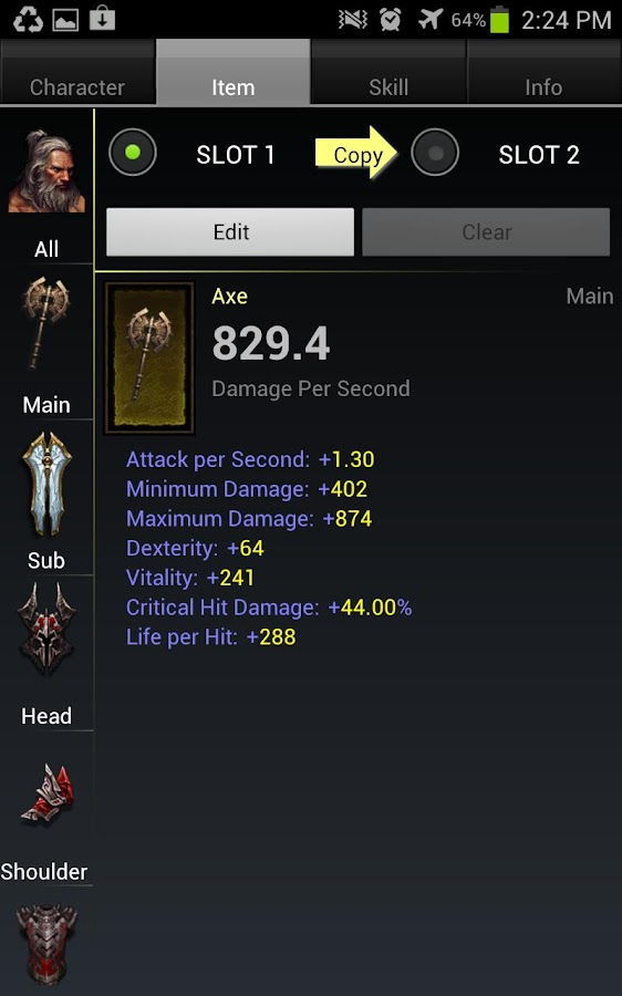 Diablo 3 Item Compare - screenshot