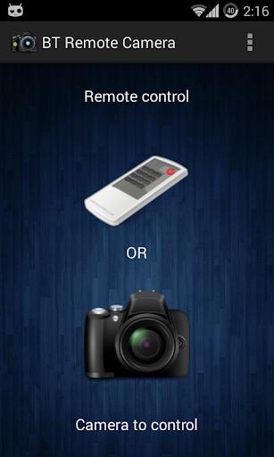 BT Remote Camera