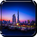 City Skyline Live Wallpaper icon