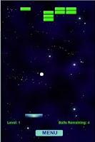 Screenshot of Paddle Ball Galaxy Free