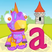 ABC Letter Dino 3D