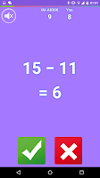 Screenshot of Crazing Math