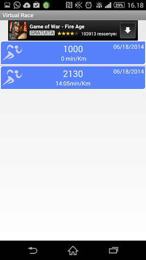 【免費運動App】Virtual Race Running-APP點子
