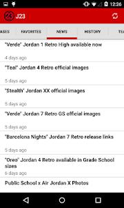 J23 - Jordan Release Dates v3.0.1