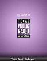 Screenshot of TPR Public Radio App
