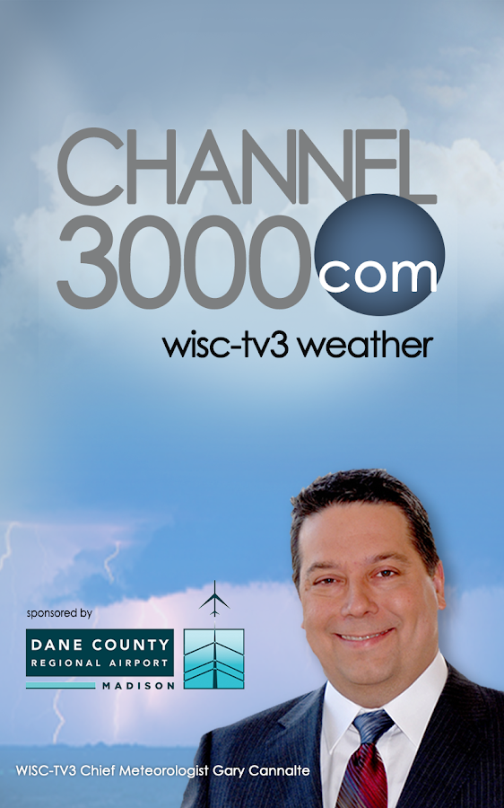 Channel 3000 WISC-TV3 Weather - screenshot