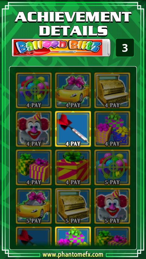 Balloon Blitz Slot Machine - screenshot