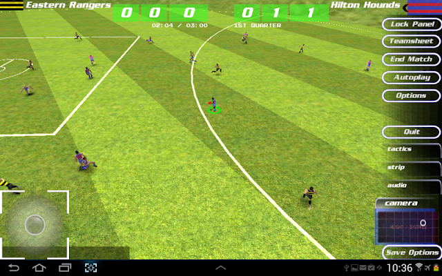 MegaFooty Quick Kick - screenshot