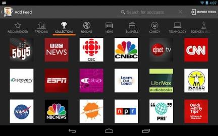 BeyondPod for Tablets - Legacy Screenshot 6