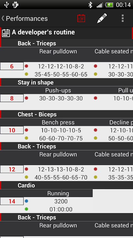 My Workout - Fitness Trainer- screenshot
