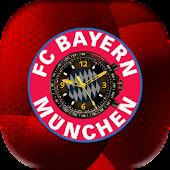 Bayern Clock Live Wallpaper