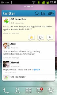 GO TwiWidget - screenshot thumbnail
