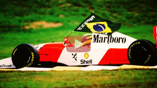 Homenagem a Ayrton Senna F1