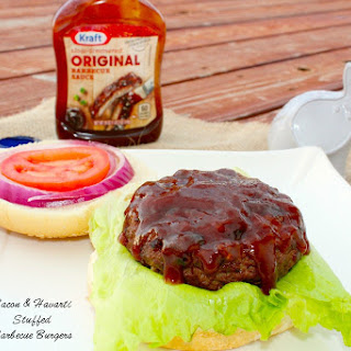 Bacon and Havarti Stuffed Barbecue Burgers