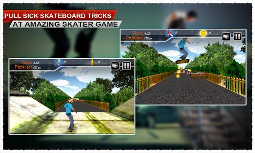 Amazing Street Skating Game screenshot