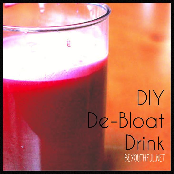 DIY De-Bloat Drink