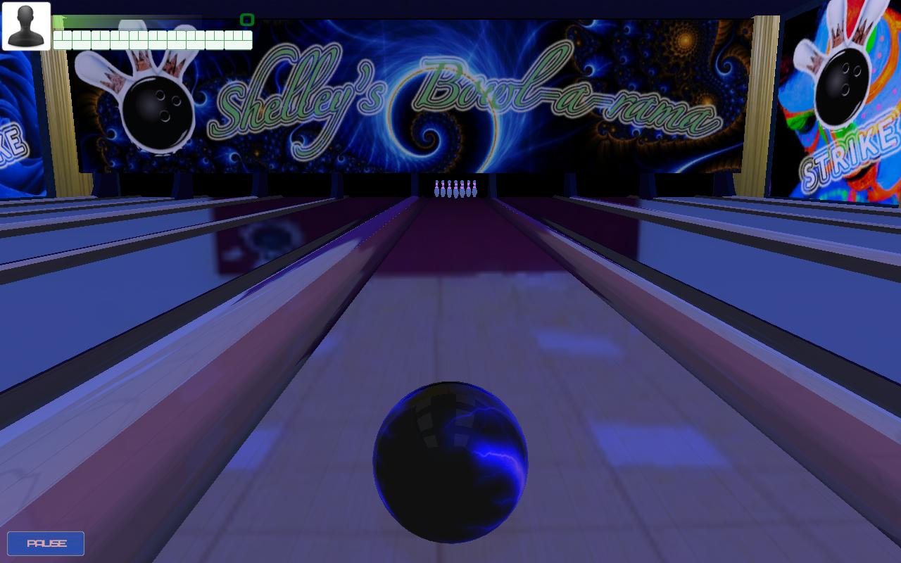 Cosmic Bowling - screenshot
