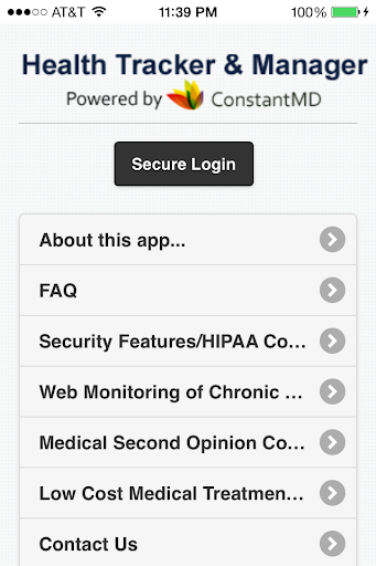 Health Tracker Manager