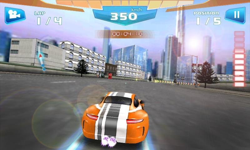 Fast Racing 3D - screenshot